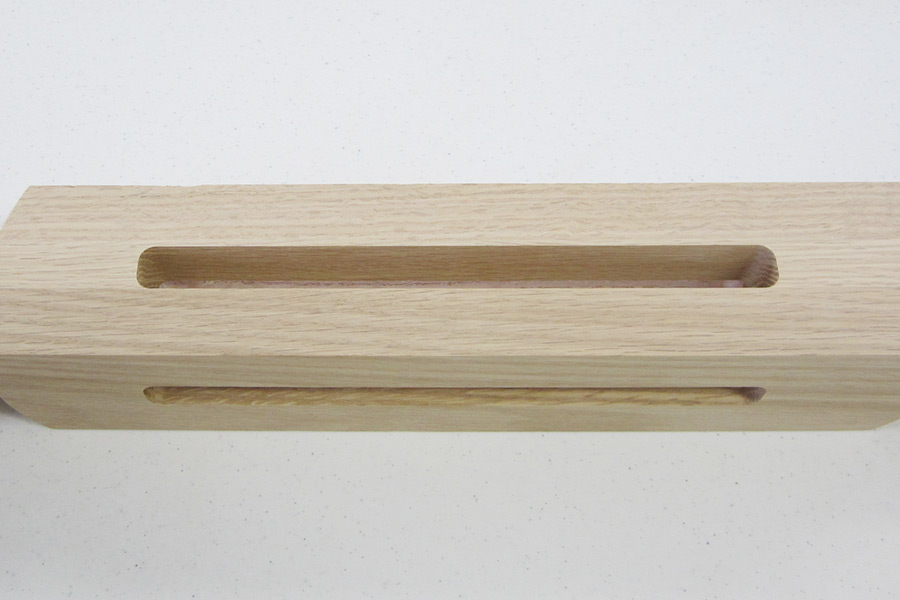 cnc routing of furniture component