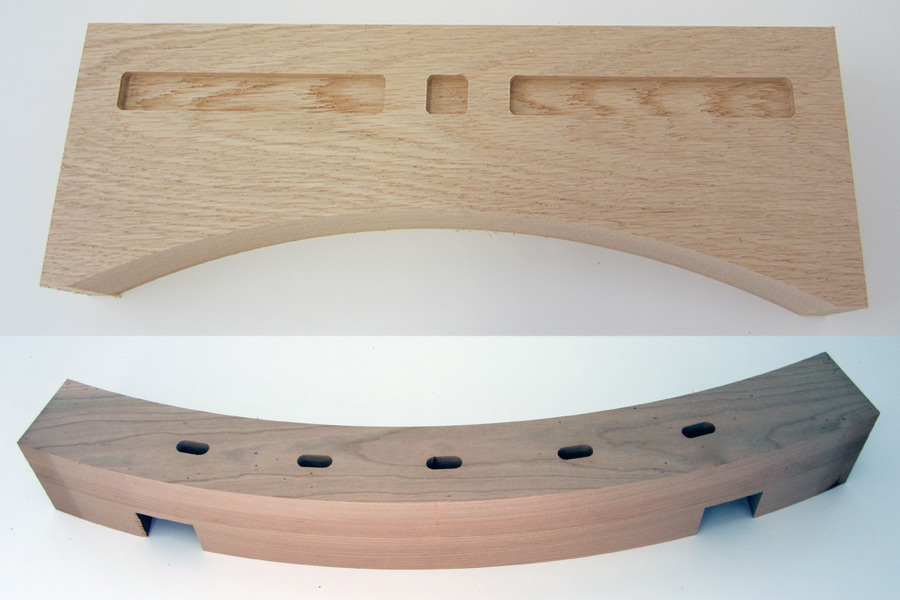 cnc routing of miscellaneous components